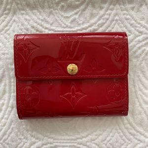 Louis Vuitton Vernis red patent monogram